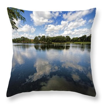 Summer Skies Throw Pillow