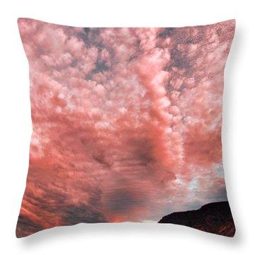 Summer Skies Throw Pillow by Tara Turner