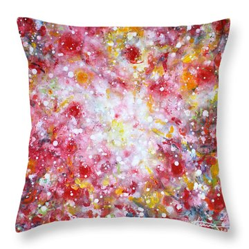 Summer Solstice Throw Pillow
