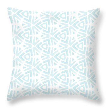 Summer Splash- Pattern Art By Linda Woods Throw Pillow