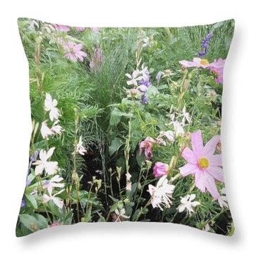 Summer Spray Throw Pillow