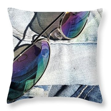 Summer Stuff Throw Pillow
