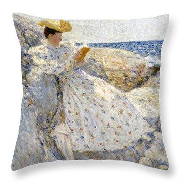 Summer Sunlight Throw Pillow