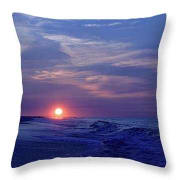 Summer Sunrise I I Throw Pillow