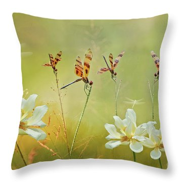 Throw Pillow featuring the photograph Summer Symphony by Bonnie Barry