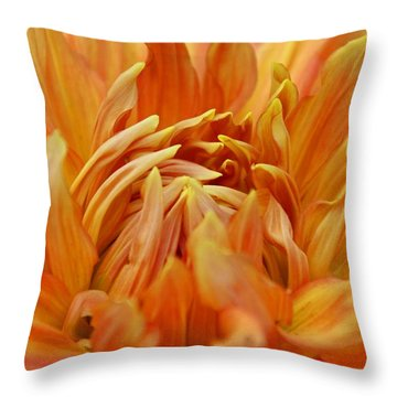 Summer Tales Throw Pillow by Michiale Schneider