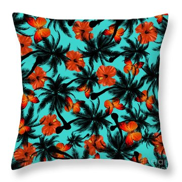 Summer Time  Throw Pillow by Mark Ashkenazi