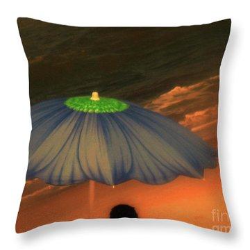 Summer-time Throw Pillow by Susanne Van Hulst