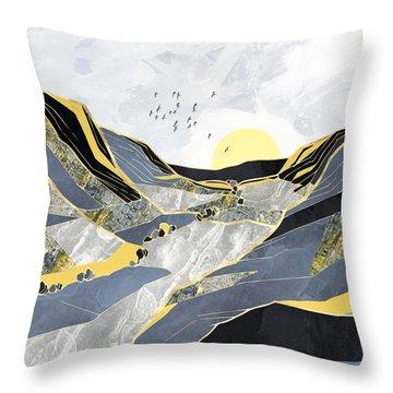 Summer Valley Throw Pillow