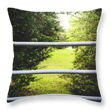Throw Pillow featuring the photograph Summer Vibes On The Farm by Shelby Young