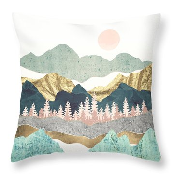 Summer Vista Throw Pillow