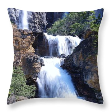 Throw Pillow featuring the photograph Summer White Water by Al Fritz