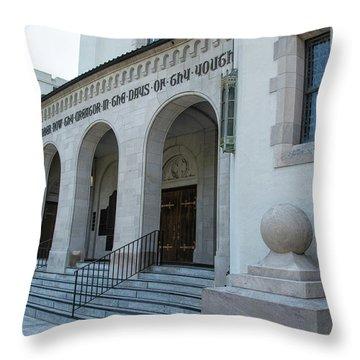 Summerall Chapel II Throw Pillow