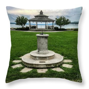 Throw Pillow featuring the photograph Summer's Break by William Norton