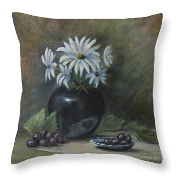 Summer's Delight Throw Pillow