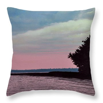 Summers Eve Throw Pillow by Kenneth M  Kirsch