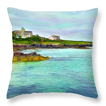 Summertime, Isle Of Iona Throw Pillow
