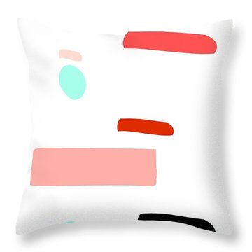 Throw Pillow featuring the digital art Southern Tea by Jessica Eli