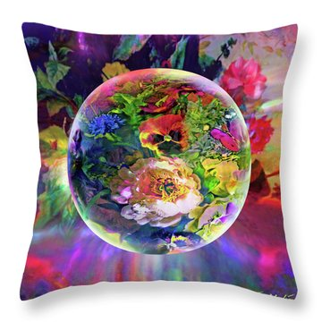Summertime Passing Throw Pillow