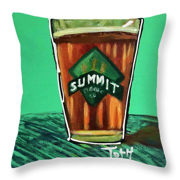 Summit 2 Throw Pillow