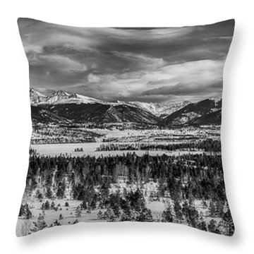 Summit County  Throw Pillow