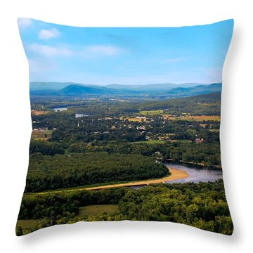 Summit House View Throw Pillow