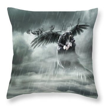 Summit Throw Pillow by Svetlana Sewell
