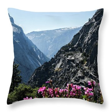 Summits Throw Pillow