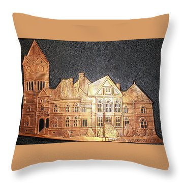 Sumter County Courthouse - 1897 Throw Pillow