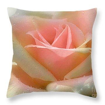 Sun Blush Throw Pillow
