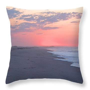 Sun Brightened Clouds Throw Pillow