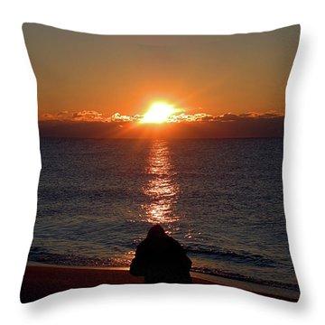 Sun Chasers I I I Throw Pillow