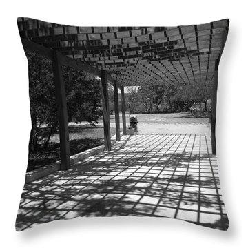 Sun Checkerboard  Throw Pillow
