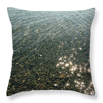 Sun Dances Throw Pillow
