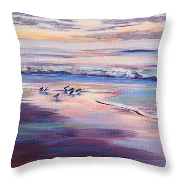 Sun Down - Sweet Spot Throw Pillow by Trina Teele