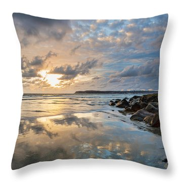Sun Drenched Throw Pillow