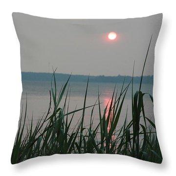 Sun Drop Throw Pillow