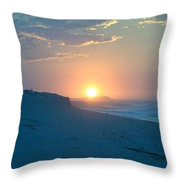 Sun Dune Throw Pillow