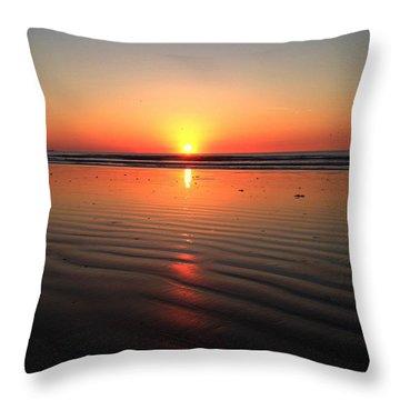 Sun Dunes Throw Pillow