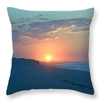 Sun Glare Throw Pillow