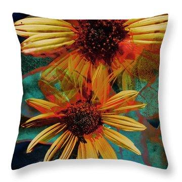 Sun Godess Throw Pillow