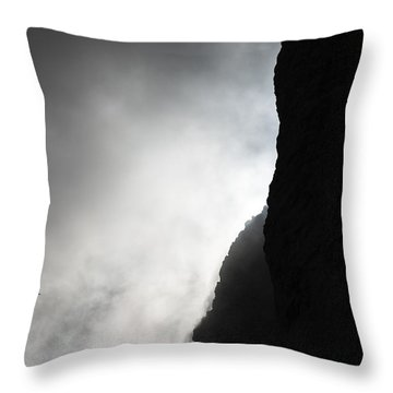Sun In The Clouds Throw Pillow by Marco Missiaja