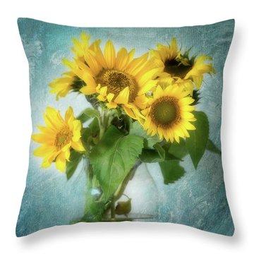 Sun Inside Throw Pillow