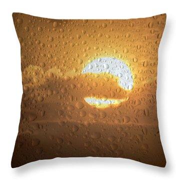 Sun Is Back Throw Pillow
