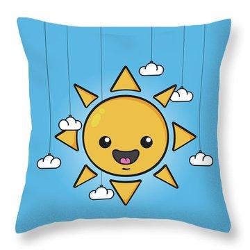 Smiley Face Throw Pillows