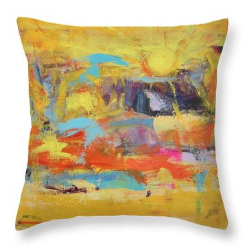 Sun Overlapping Throw Pillow