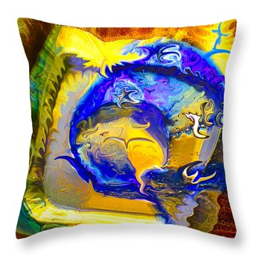 Sun Of A Moon Throw Pillow