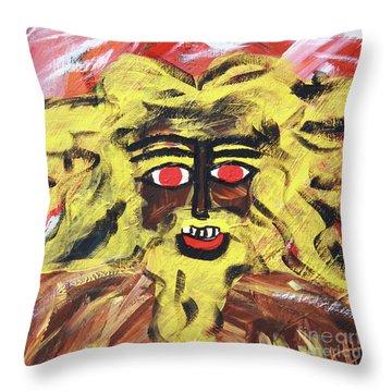 Sun Of Man Throw Pillow
