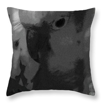 Sun Parakeet  Throw Pillow