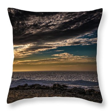 Sun Peeks Through Throw Pillow